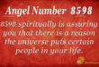 8598 angel number