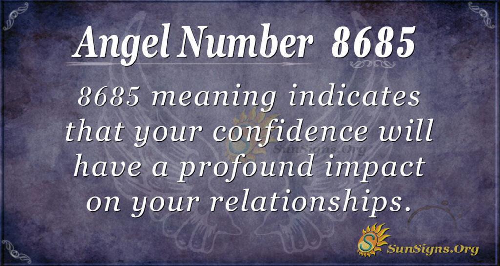 8685 angel number