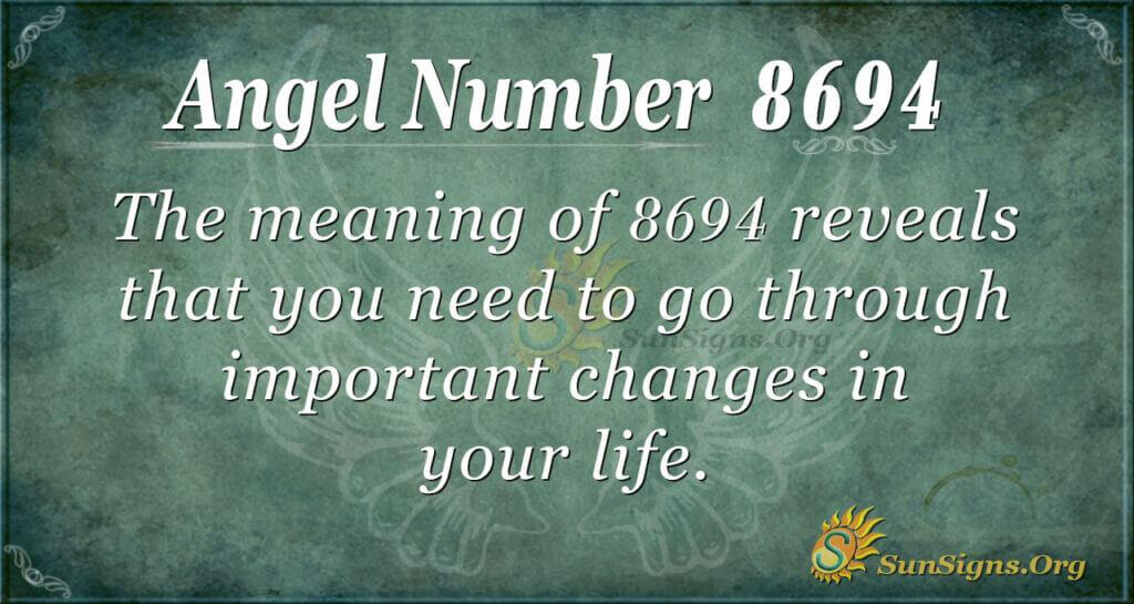 8694 angel number