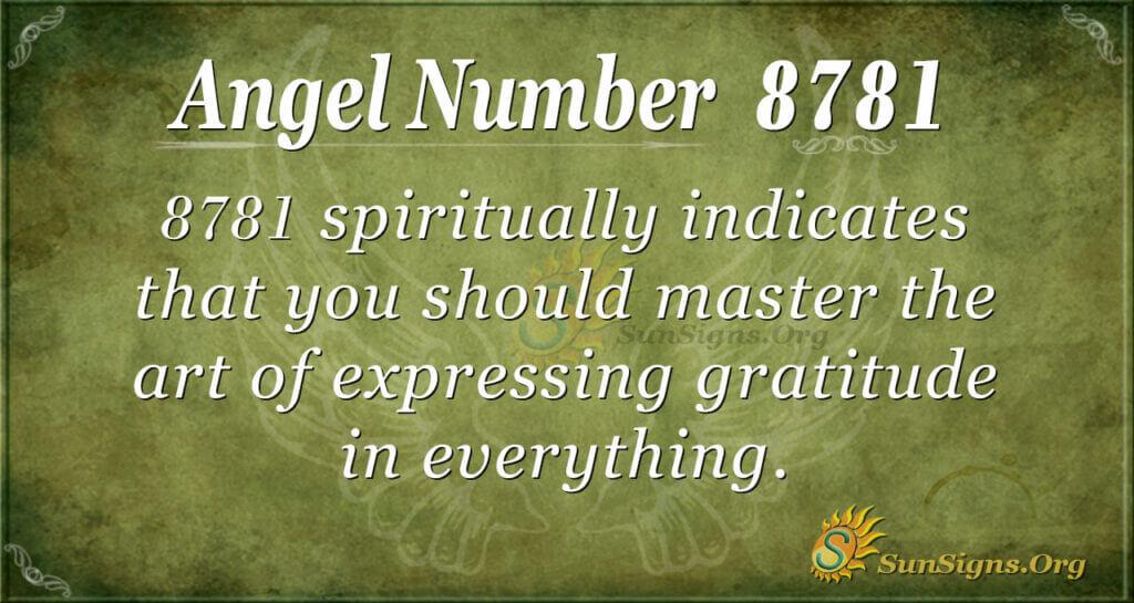 8781 angel number