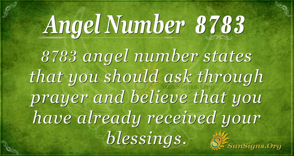 8783 angel number