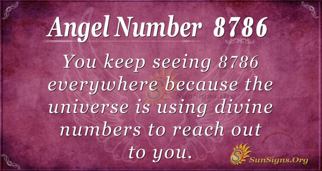 8786 angel number