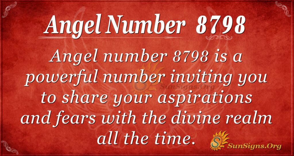 8798 angel number