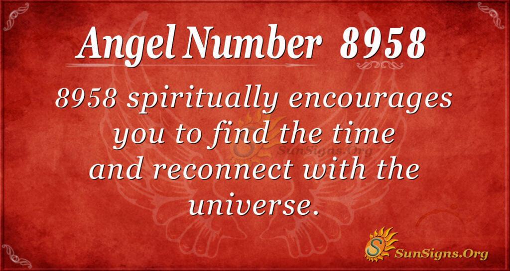 8958 angel number