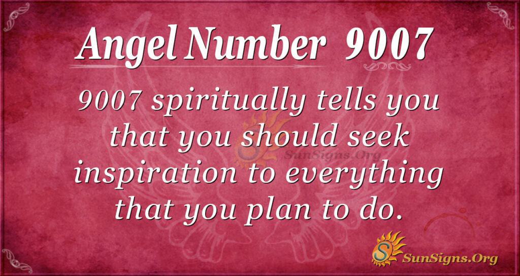 9007 angel number