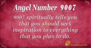 9007 angel number