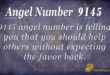 9145 angel number