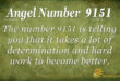 9151 angel number