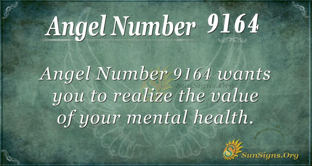 9164 angel number