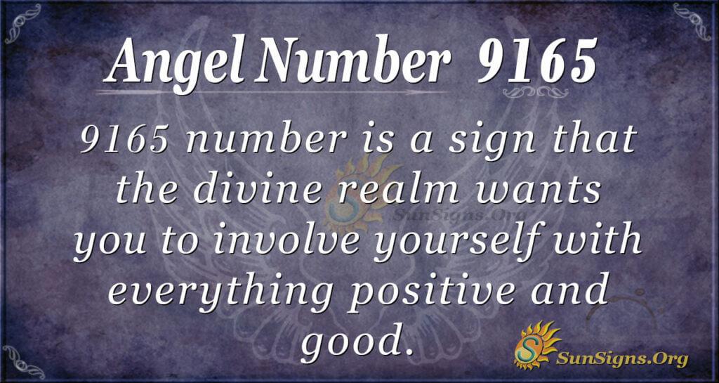 9165 angel number