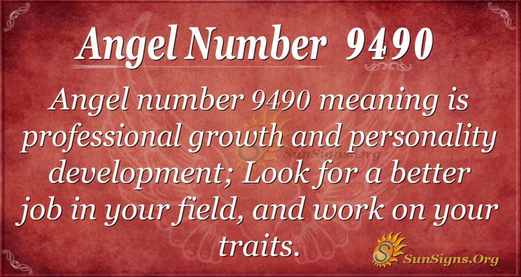 9490 angel number
