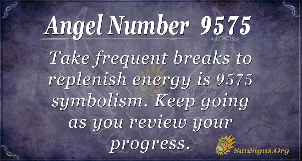 9575 angel number