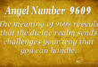 9609 angel number
