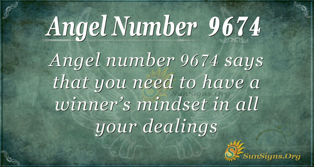 9674 angel number