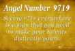 9719 angel number