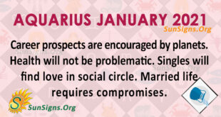 Aquarius January 2021