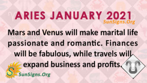 Aries January 2021