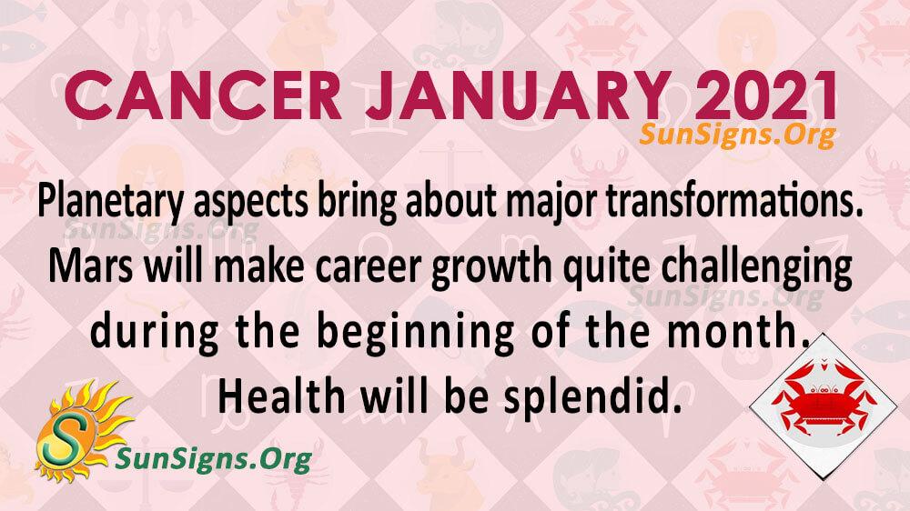 Cancer January 2021