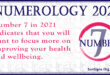 numerology number 7 2021