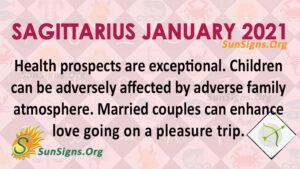 Sagittarius January 2021