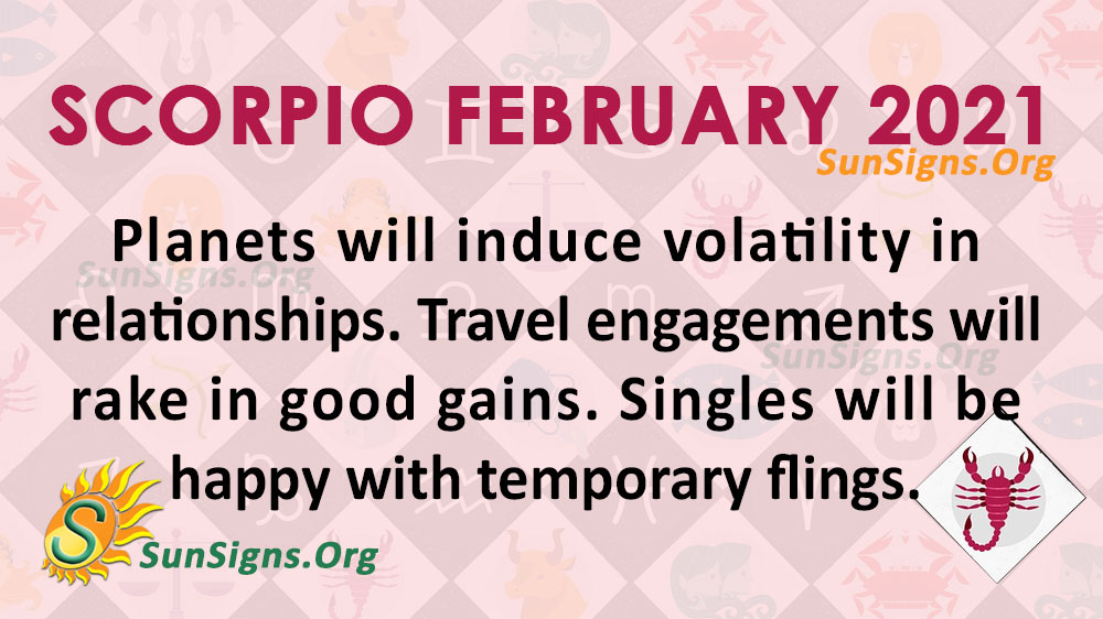 Scorpio February 2021