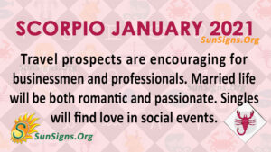 Scorpio January 2021