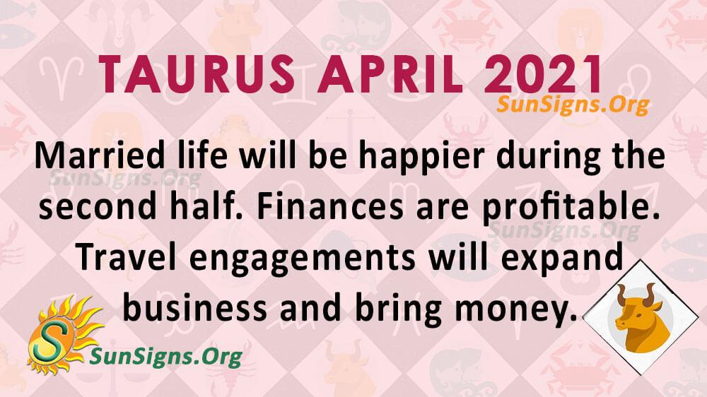 Taurus April 2021