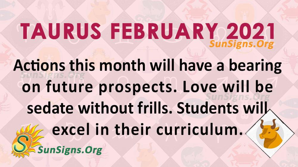 Taurus February 2021