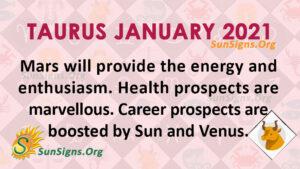 Taurus January 2021
