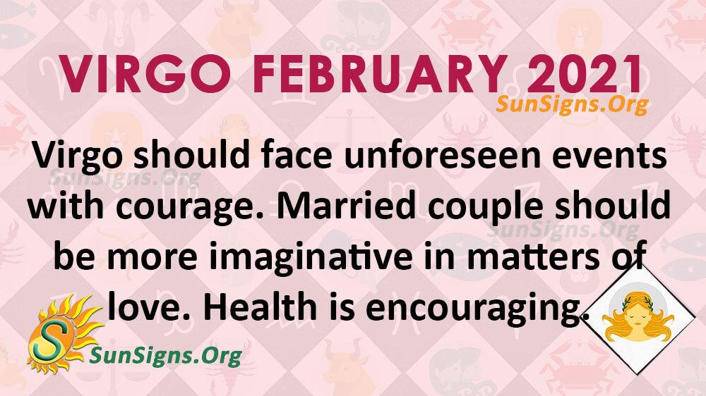 Virgo February 2021