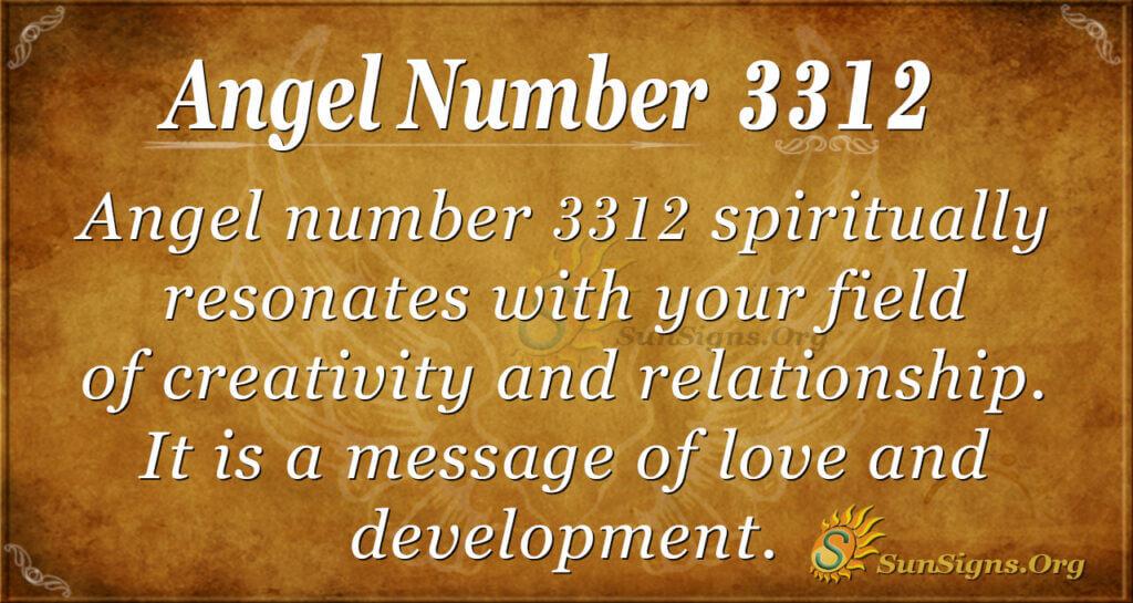 3312 angel number