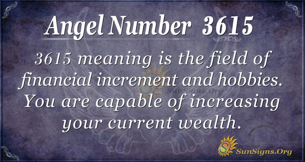 3615 angel number