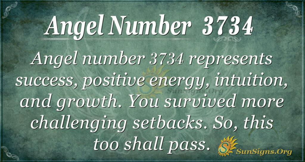 3734 angel number