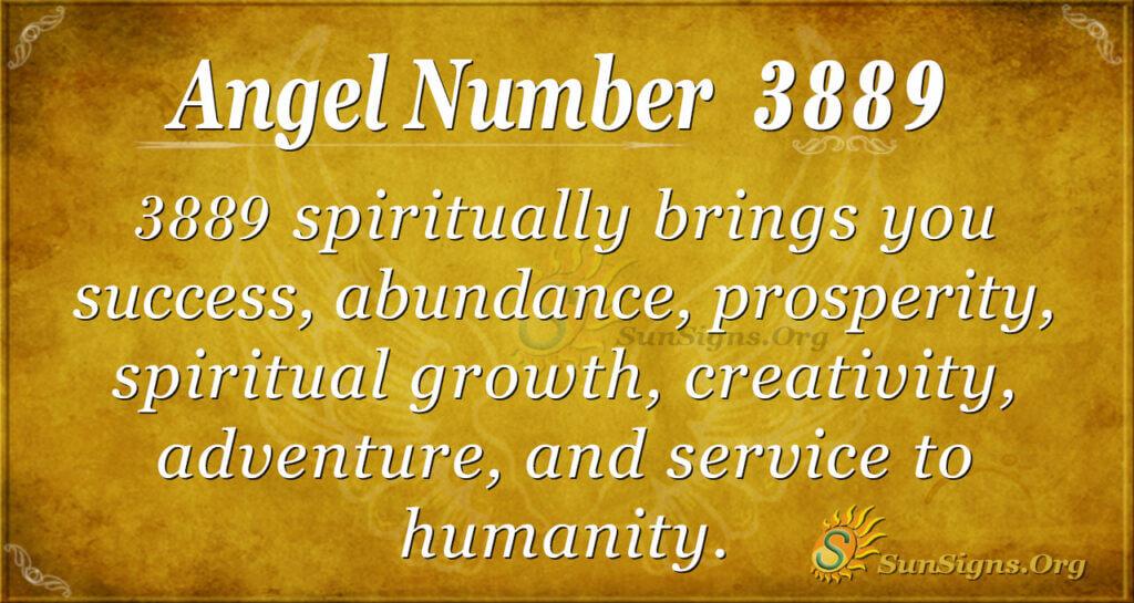 3889 angel number