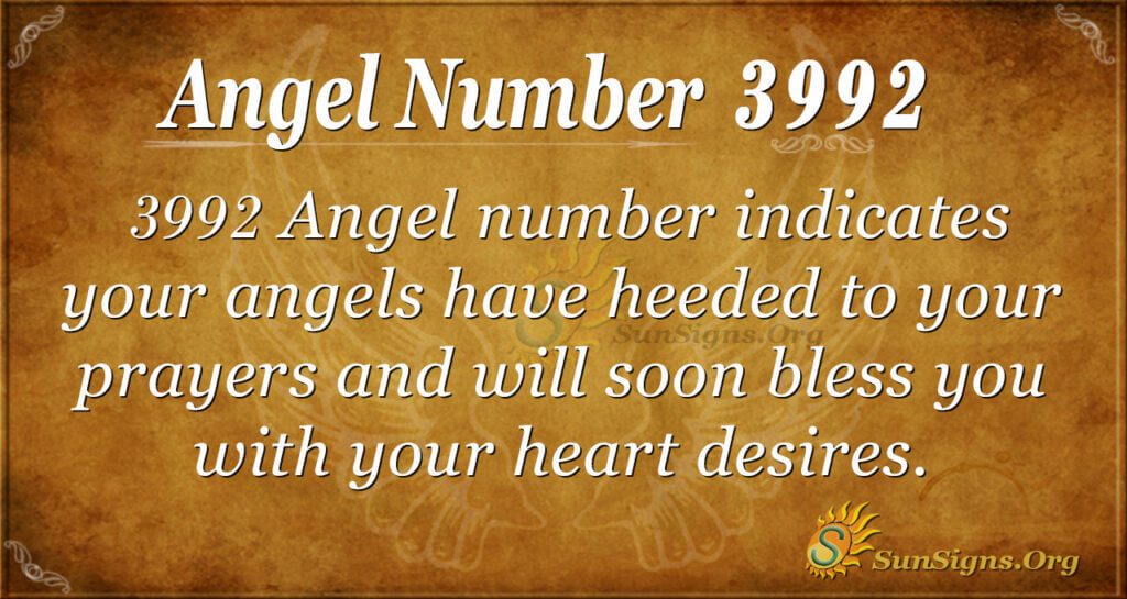 3992 angel number