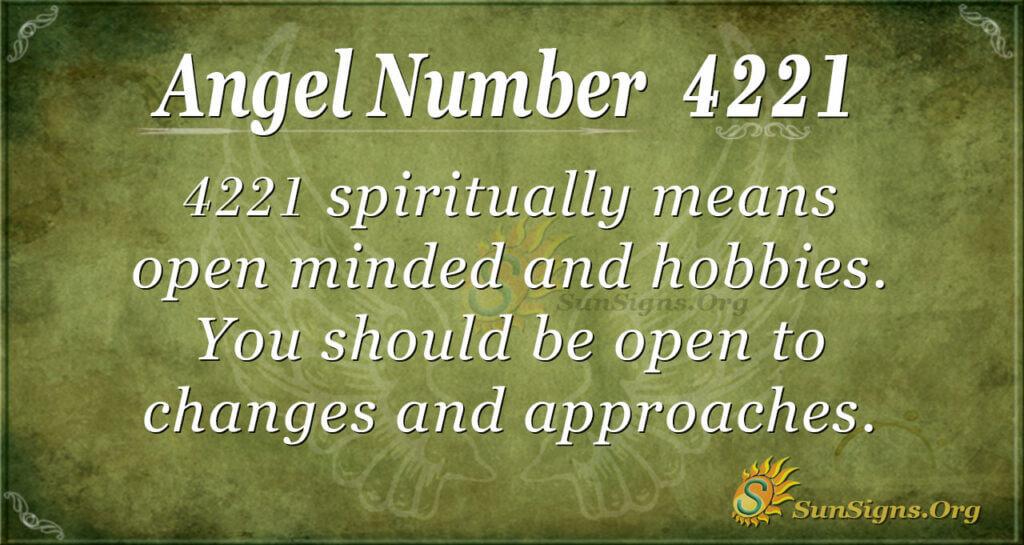 4221 angel number