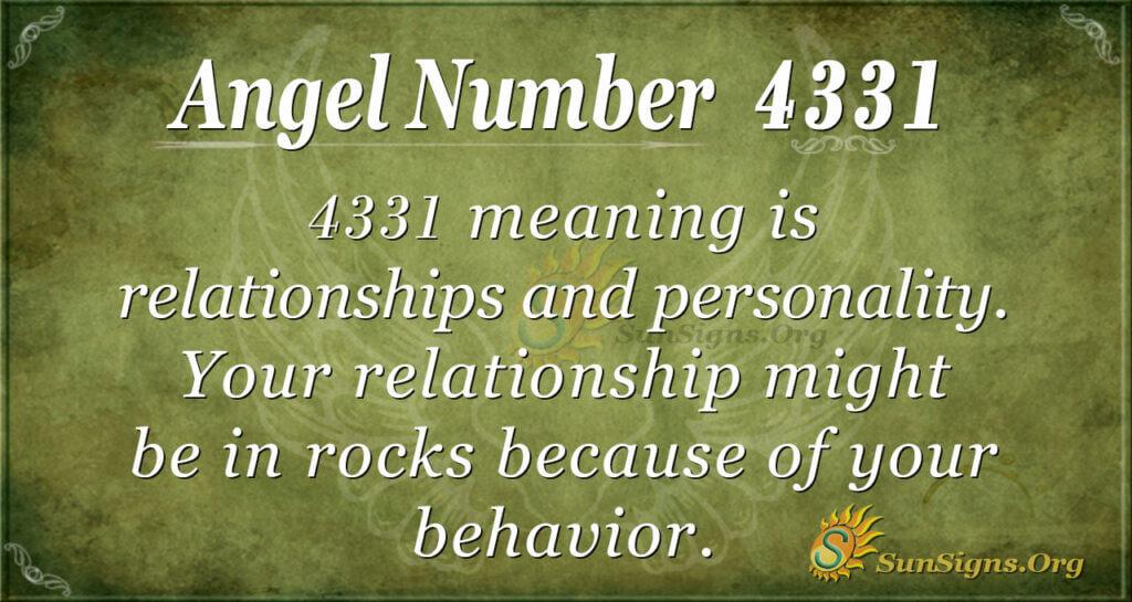 4331 angel number