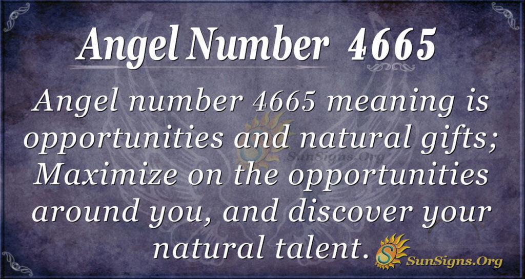 4665 angel number