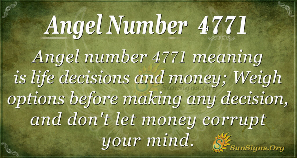 4771 angel number