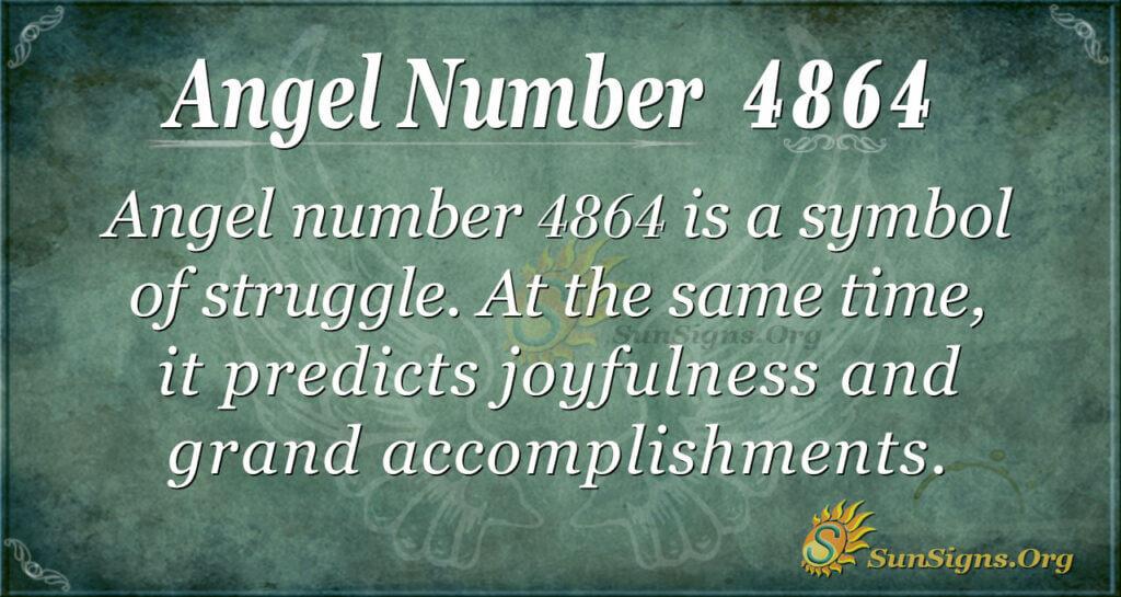 4864 angel number