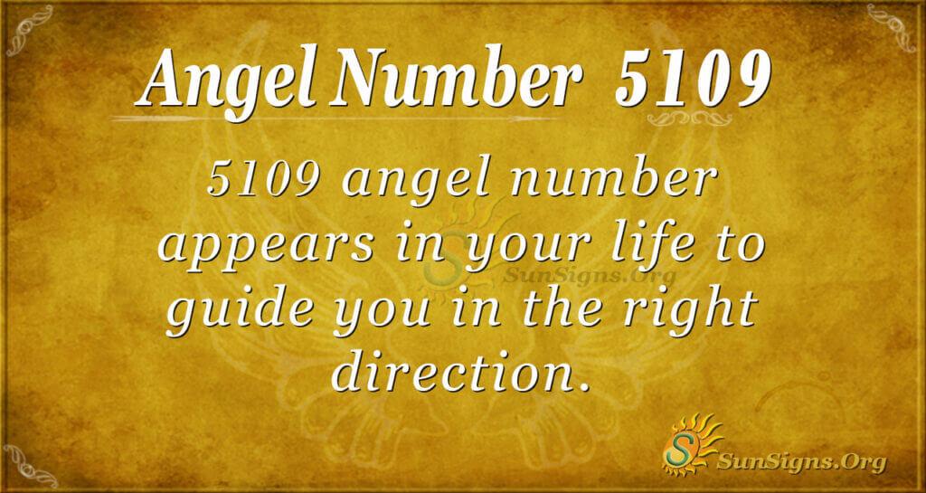 5109 angel number