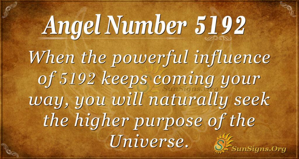 5192 angel number