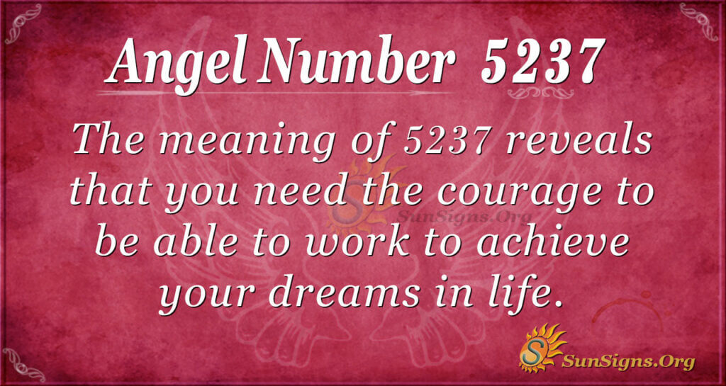 5237 angel number