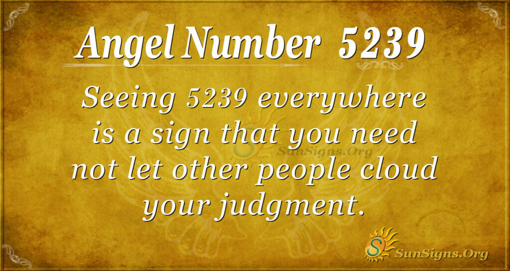 5239 angel number