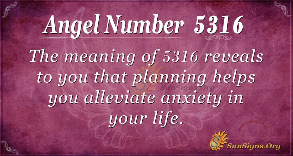 5316 angel number