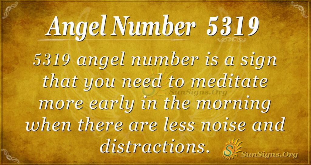 5319 angel number