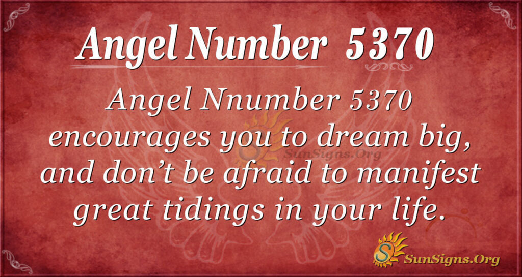 5370 angel number