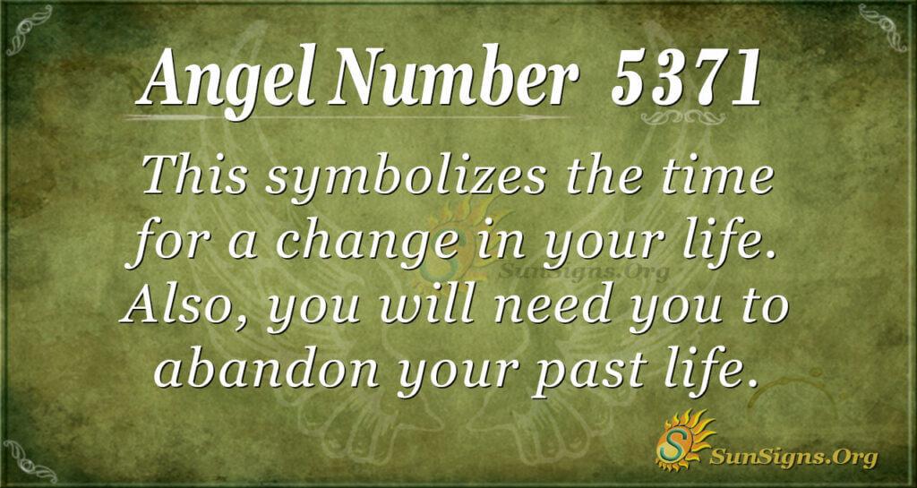 5371 angel number