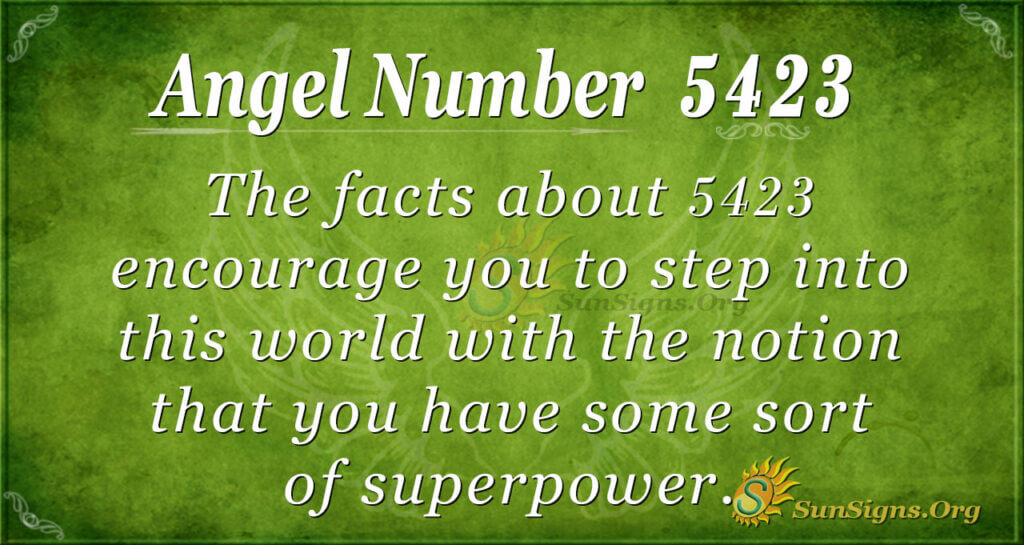 5423 angel number