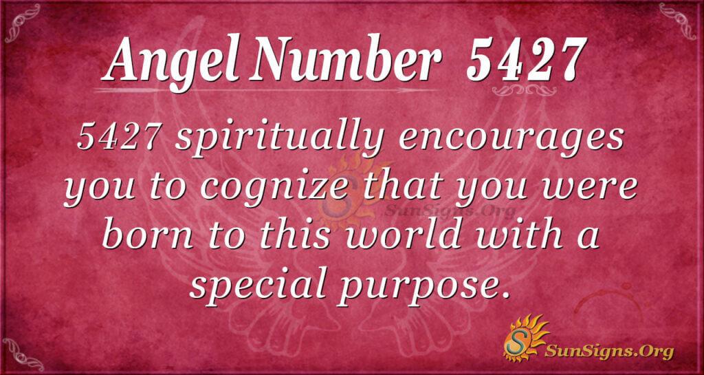 5427 angel number